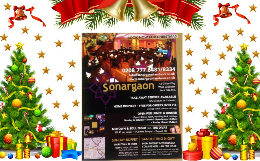 Sonargaon Tandoori Christmas Celebrations Events Booking Open